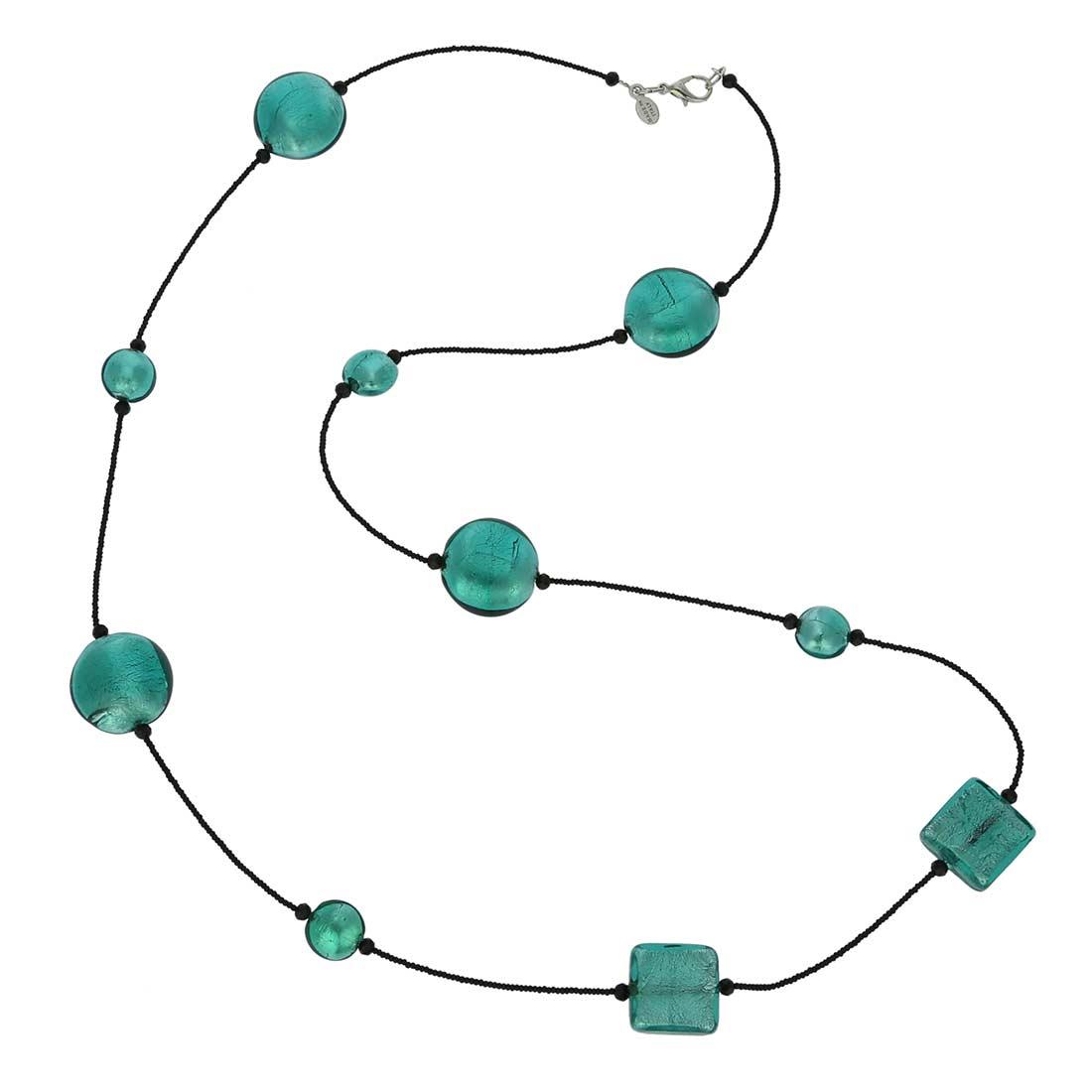 Lucia Murano Necklace - Ocean Green