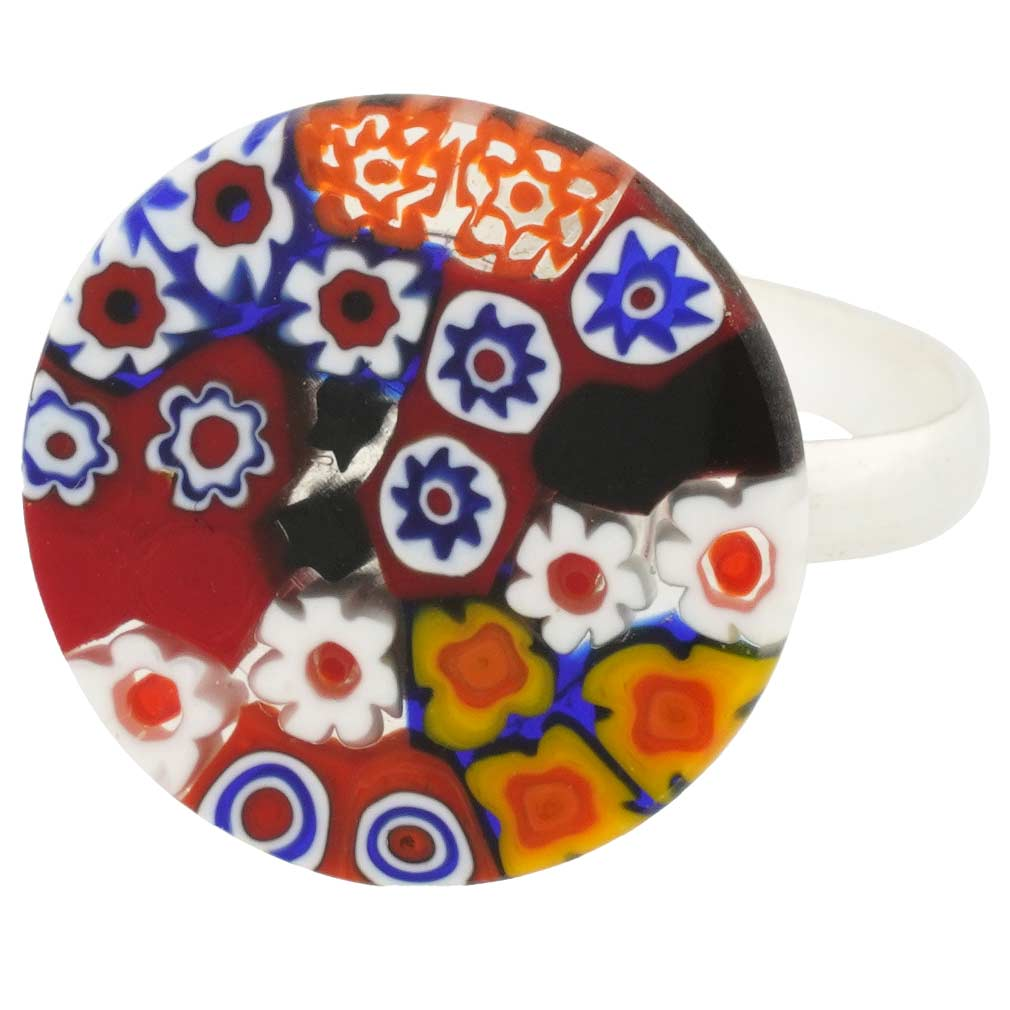 Murano Millefiori Ring #4