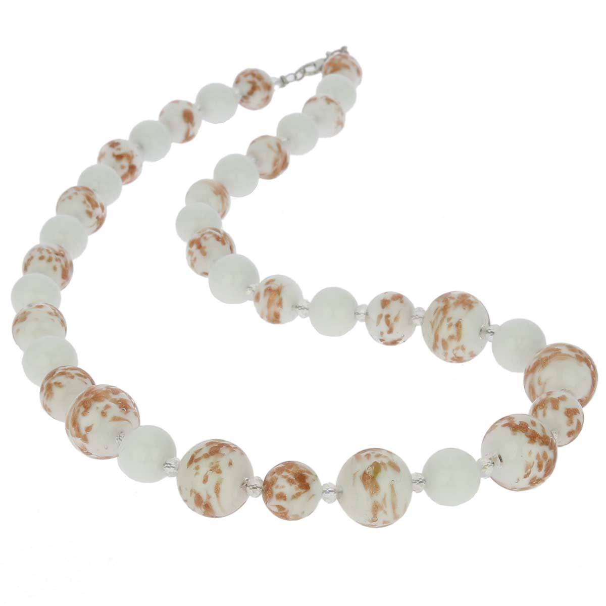 Starlight Murano Necklace - White