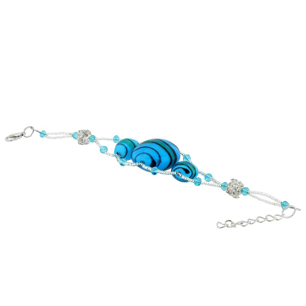 Venetian Dream Bracelet - Blue and Gold