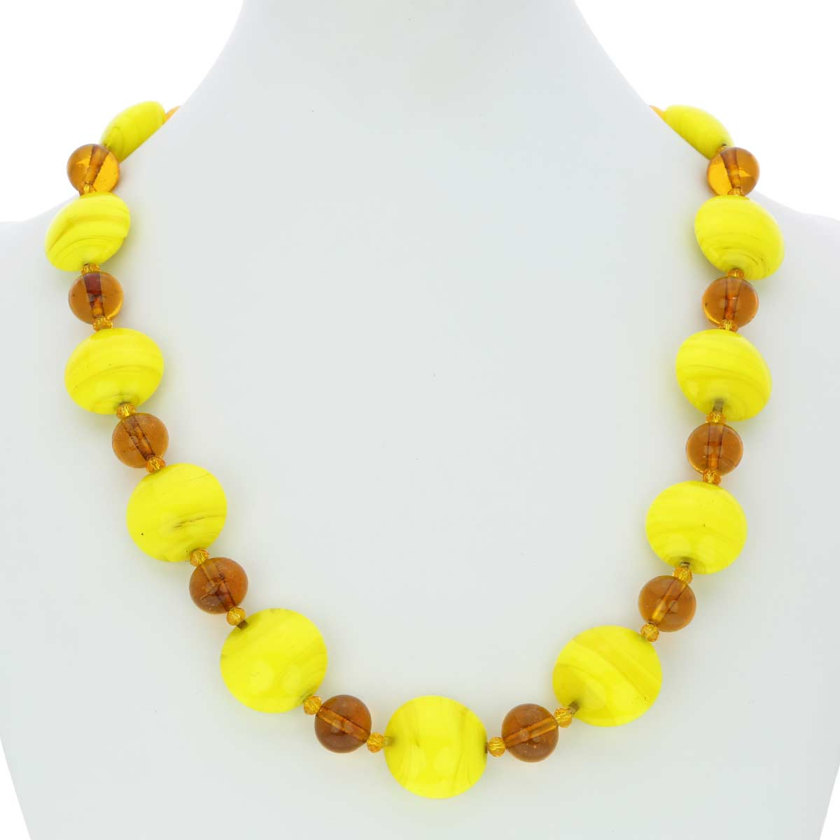Murano Wonders necklace - desert sands
