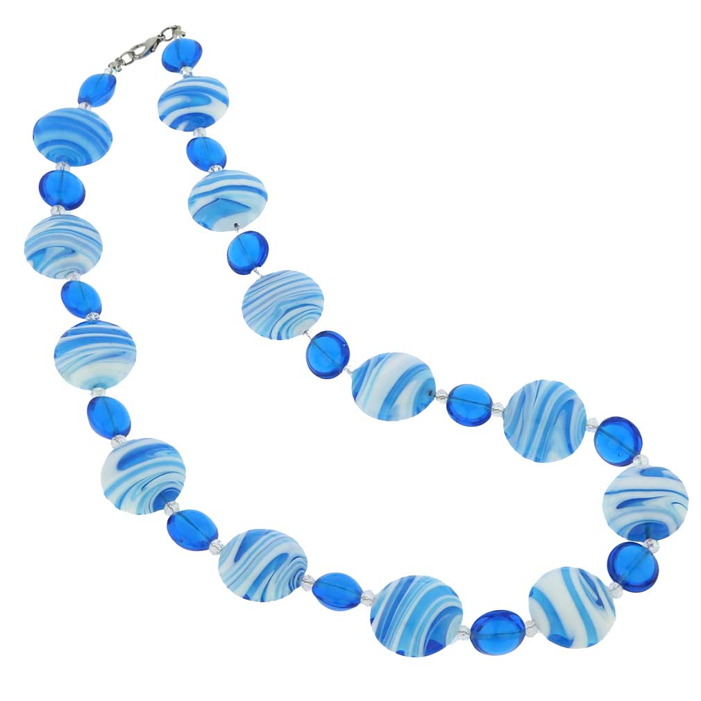 Murano Wonders necklace - caribbean dream