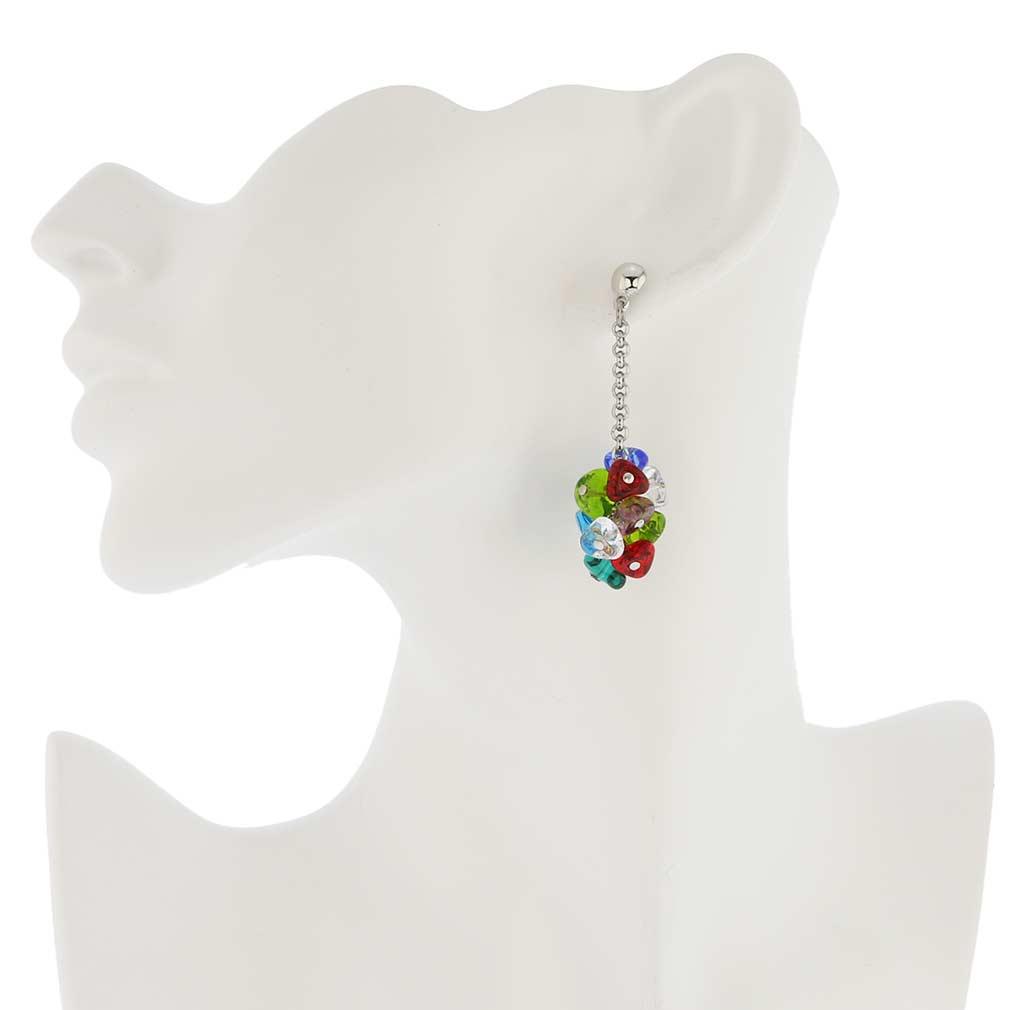 Preziosa Murano Glass Earrings - Multicolor