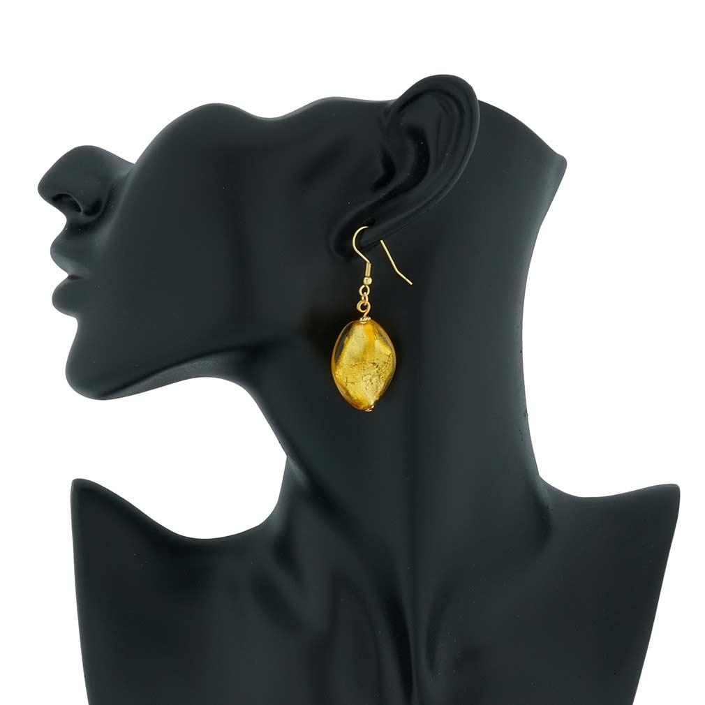 Royal Gold Spiral earrings