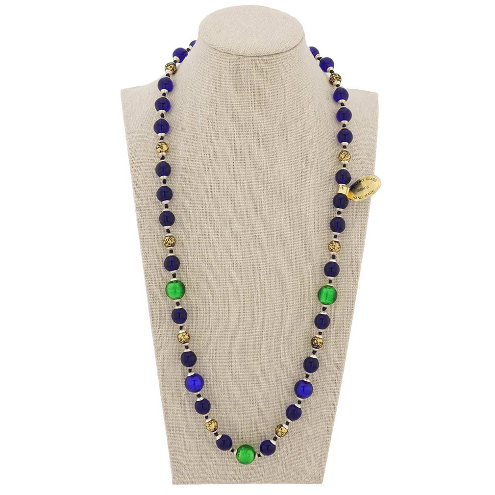 Royal Green heart necklace