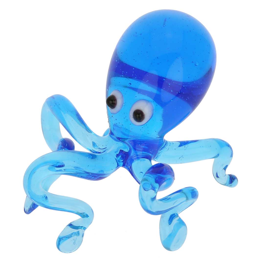 Murano Glass Octopus - Blue