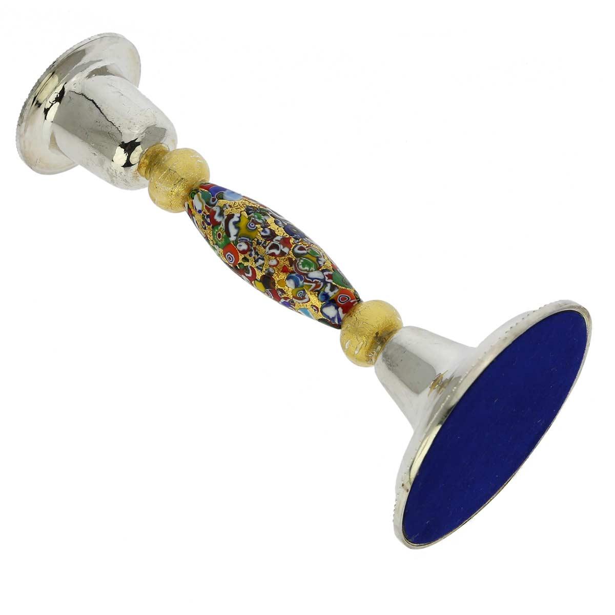 Klimt Murano Glass Candle Holder