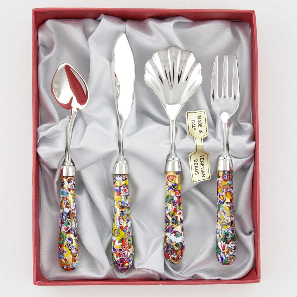 Serving Set Klimt - 4 pieces