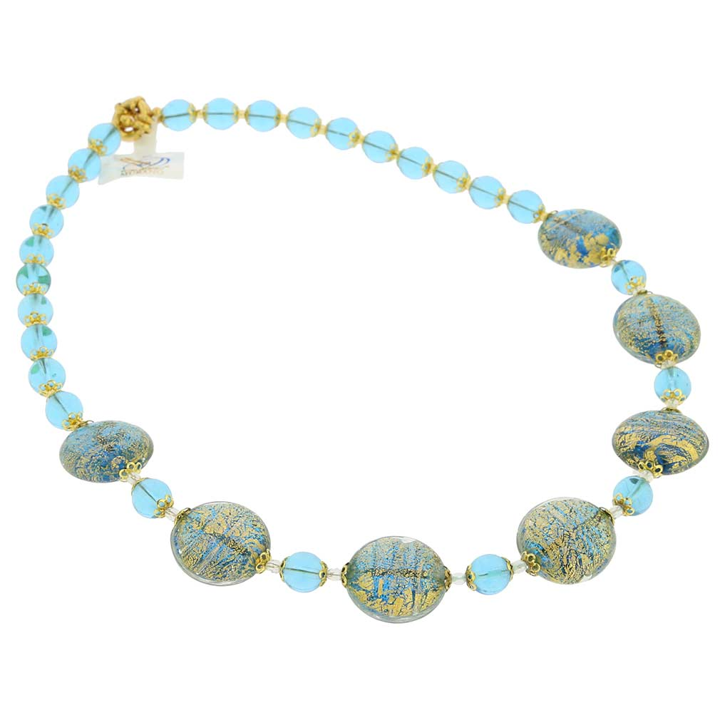 Necklace Ca D\'Oro -aqua