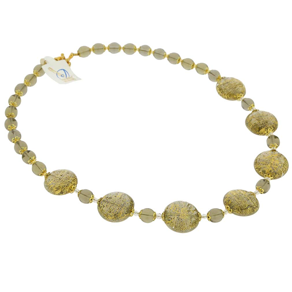 Necklace Ca D'Oro -cloudy sky