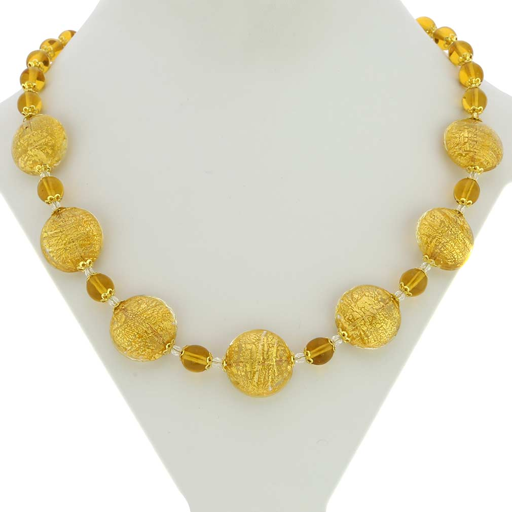 Necklace Ca D\'Oro - yellow gold