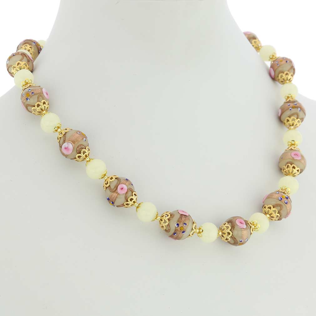 Necklace Venezia - ivory