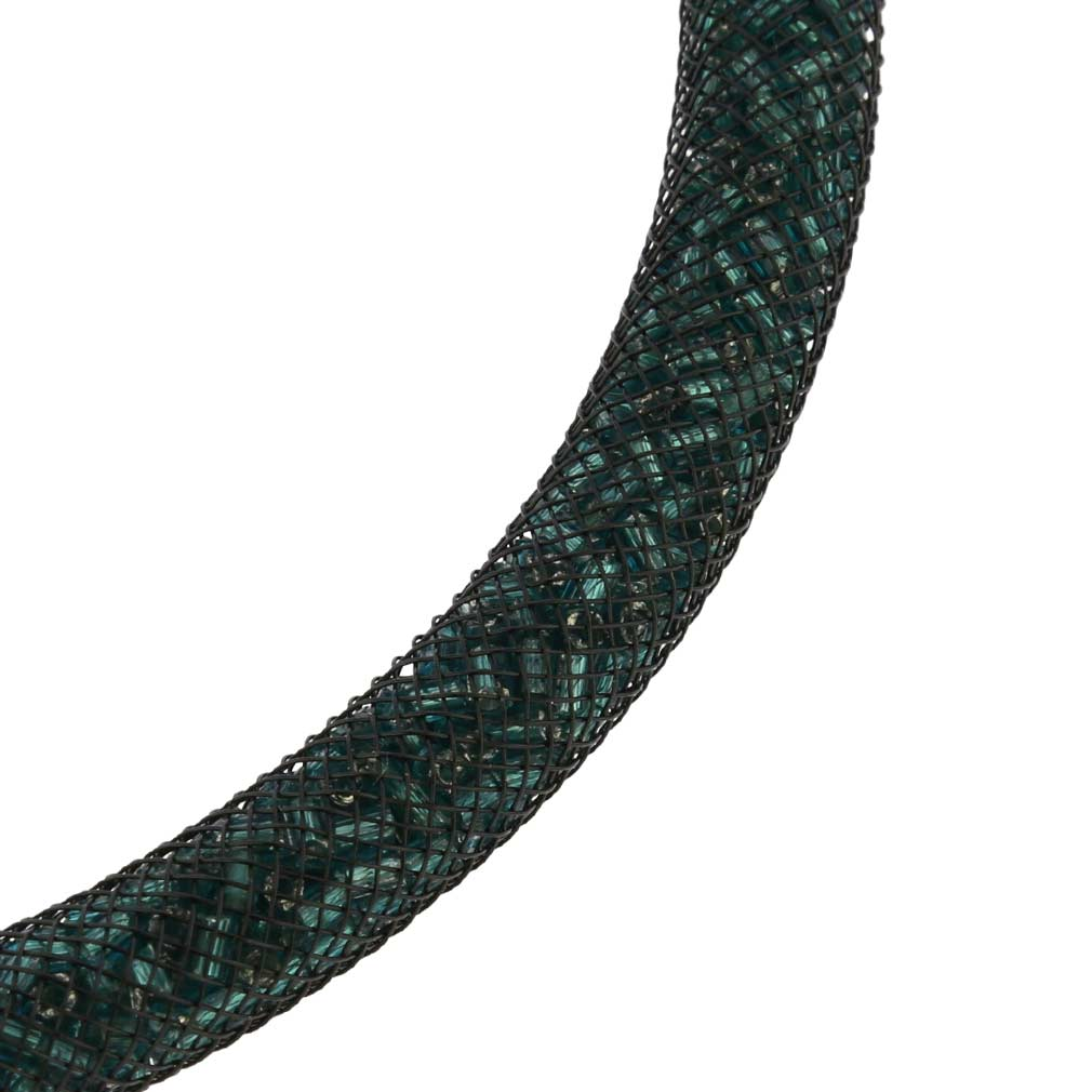 Murano Necklace Eleganza - Emerlad Green