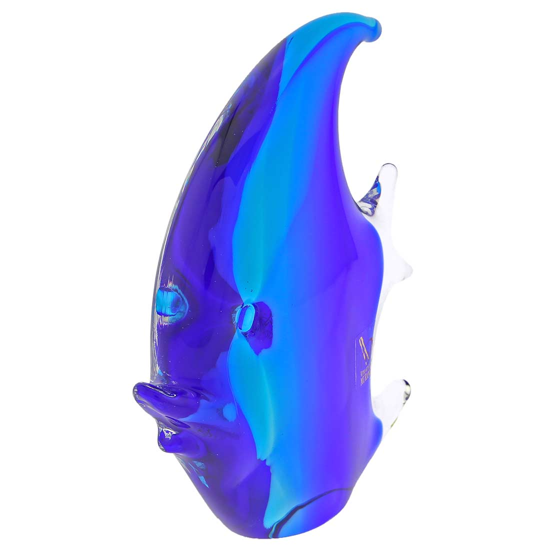Murano Glass Fish - Aqua Blue