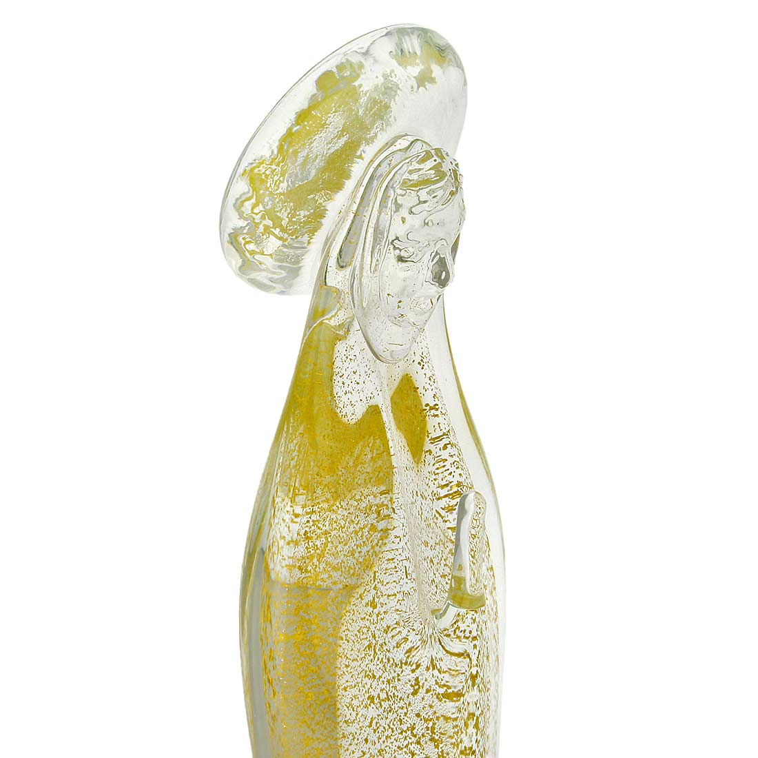 Murano Glass Madonna - Sparkling Gold