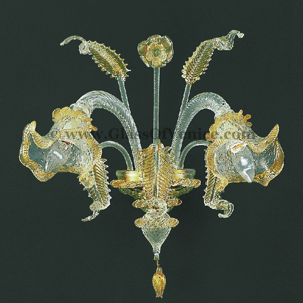 Canal Grande series Wall sconce 2 lights