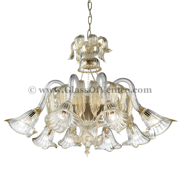 Laguna series Chandelier basket shape 8 lights