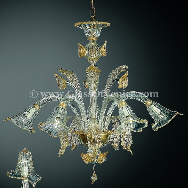 Laguna series Chandelier 5 lights