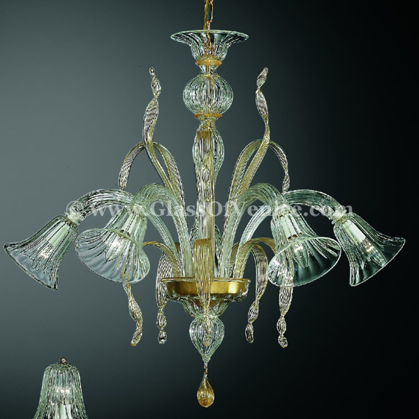 Rialto series Chandelier 5 lights