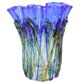 Murano Glass Oceanos Abstract Art Vase
