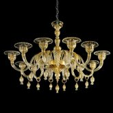 Invidia Murano Glass Chandelier