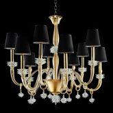 Ira Murano Glass Chandelier