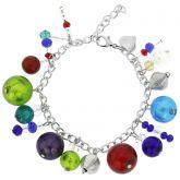 Sorgente Murano Glass Bracelet - Multicolor