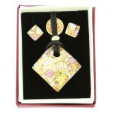 Venetian Reflections Jewelry Set - Purple Gold