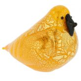 Murano Glass Bird - Yellow