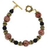 Murano Symphony Bracelet - Red