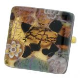 Venetian Reflections Ring - Square With Adjustable Band #2