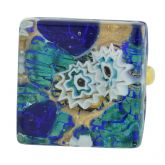 Venetian Reflections Ring - Square with adjustable band #4
