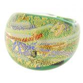 Avventurina Summer Meadow ring in domed design