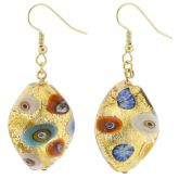 Royal Klimt Spiral Earrings