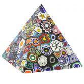 Murano Millefiori Pyramid