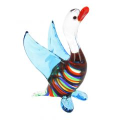 Striped Glass Duck