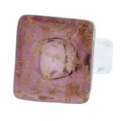 Starlight Square Ring - Purple