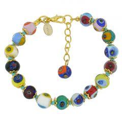 Murano Mosaic Bracelet - Multicolor