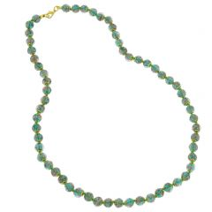 Sommerso Long Necklace - Jade Green