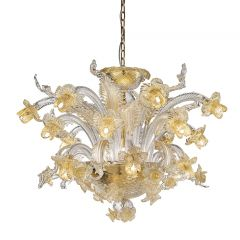 Amelie Murano Glass Chandelier