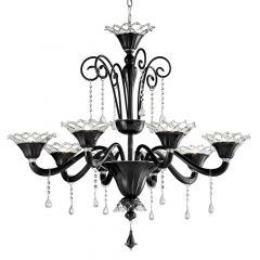 Artemio Murano Glass Chandelier