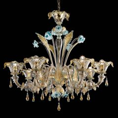 Colosseo Murano Glass Chandelier