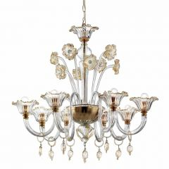 Fratton Murano Glass Chandelier