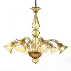 Giuly Murano Glass Chandelier