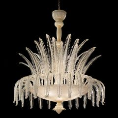 Inverno Murano Glass Chandelier