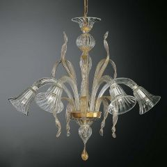 Maurin Murano Glass Chandelier