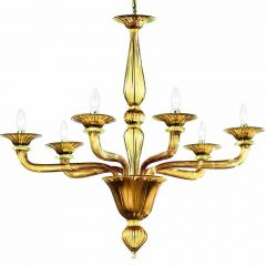 Madera Murano Glass Chandelier