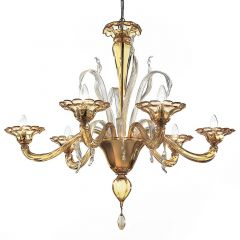 Prince Murano Glass Chandelier