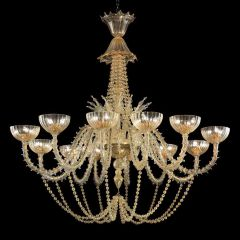 Roberta Murano Glass Chandelier