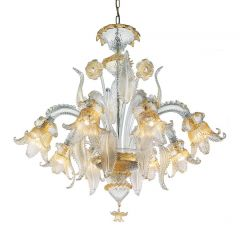 Secolo Murano Glass Chandelier
